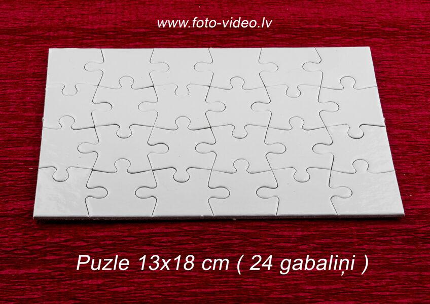 Foto puzle 13x18 cm ar 24 gabaliņiem