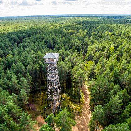 Ložmetējkalna skatu tornis. Valgundes pagasts.