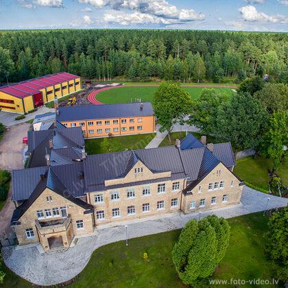 Kalnciema vidusskola. Valgundes pagasts.
